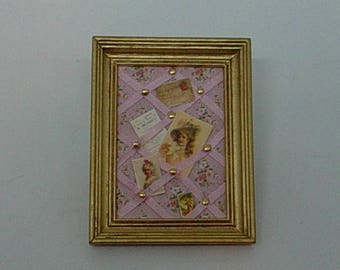 Dollhouse Miniature 1:12 Scale – Memo Board