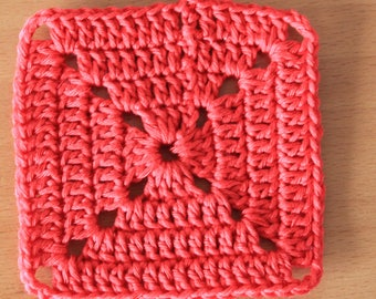 Crochet Square Coaster