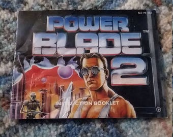 Power Blade 2 NES instruction manual