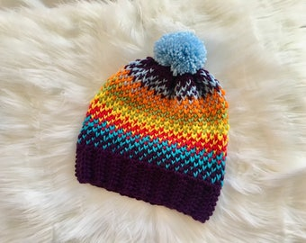 Child's Crochet Hat