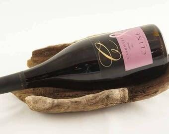 Driftwood Wine Bottle Holder