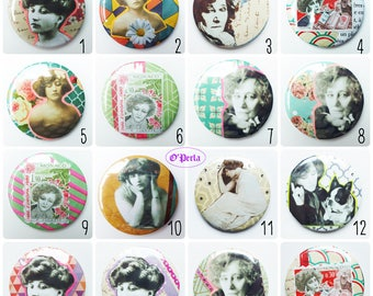Badges or magnets 'scrap' COLETTE 2016 collection