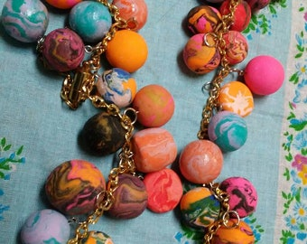 Large beads polymer clay for crafts