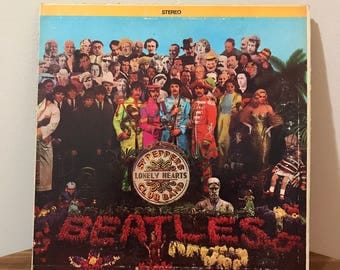 Sgt. Pepper's Lonely Hearts Club Band First US Press
