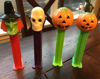 Halloween Pez dispensers - set of 4