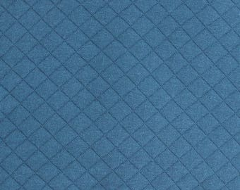 Tissue Jersey quilted FRANCE DUVAL - STALLA teal