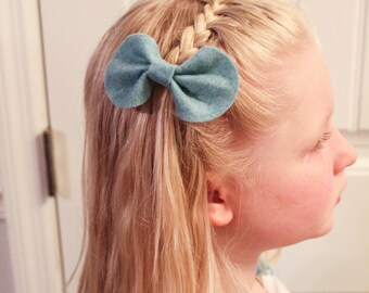 Three butterfly hair bows