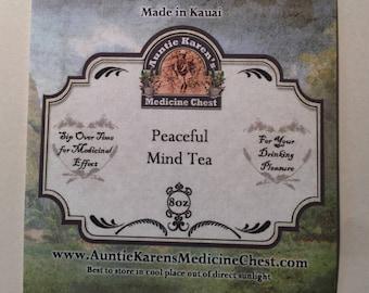 Loose Leaf Tea: Peaceful Mind