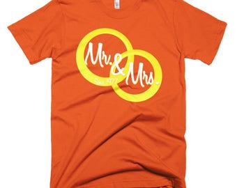 Mr & Mrs Short-Sleeve T-Shirt