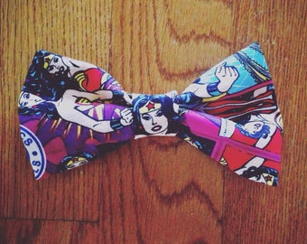 Wonder women bow tie