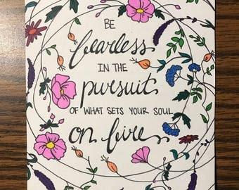 Small Custom Quote Illustration