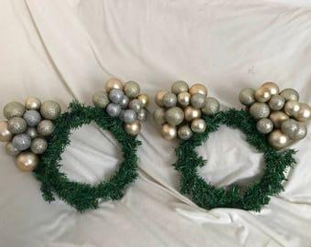 Winter Date Wreaths