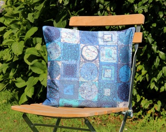 Silk Batik Decorative Pillow: MEMORY