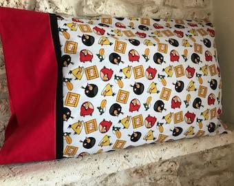 Angry Birds Pillowcase
