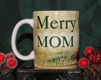 Personalized Merry Christmas Mug
