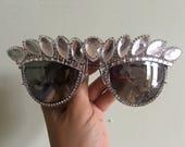vegas showgirl festival sunglasses