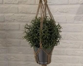 Jute macramé Plant Pendant 65 cm