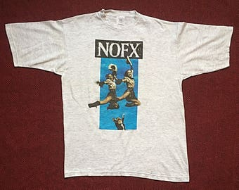 "1996 NOFX ""Punk In Drublic"" shirt-XL-Pennywise, Bad Religion, Descendents, Minor Threat, Black Flag, Bad Brains, Circle Jerks, Dead Kennedys"