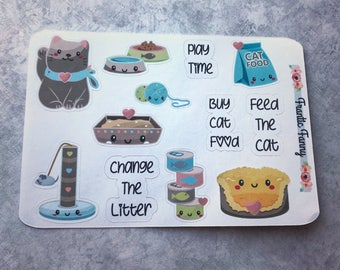 Kitty Care Stickers