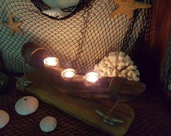 Driftwood candle (#4)
