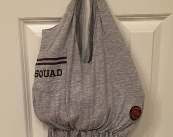 Girl's Basketball Gym Bag