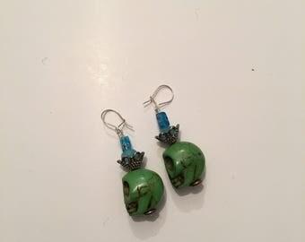 queen green skulls