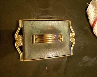Nordia Brass Trinket Box