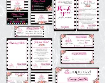 Paparazzi Marketing Kit, Paparazzi Bundle, Paparazzi Package, Personalized Paparazzi Card, Paparazzi Marketing Card, Digital file PP06