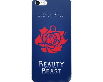 Beauty and the Beast iPhone 5/5s/Se, 6/6s, 6/6s Plus Case