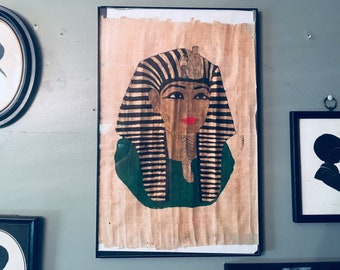 Egyptian Papyrus Pharaoh