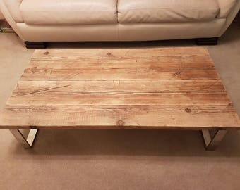 Scaffold Coffee Table New