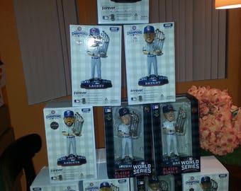 2016 Chicago Cubs World Series Bobblehead Set
