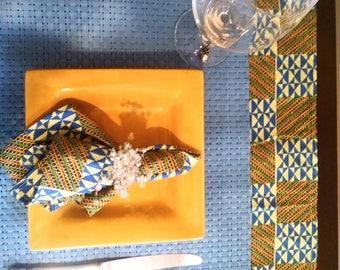 Runner table & napkins