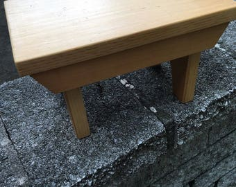 Handmade Small Wooden Bench