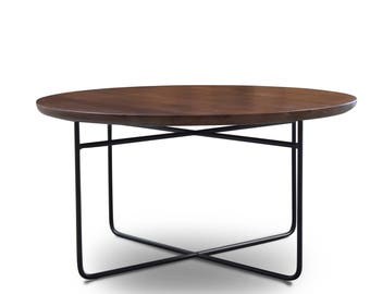 Omar round coffee table