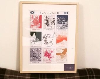 Scotland and England Maps