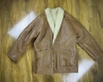 Coats & Jackets /Shearling/Brown