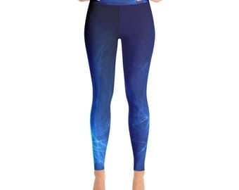 Blue Yoga Leggings