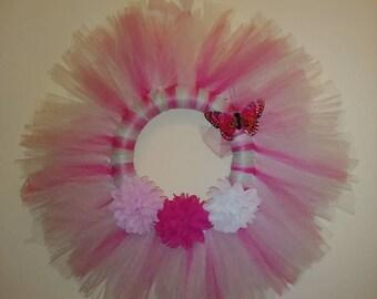 Pinkie Power Tule Wreath