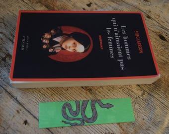 Snake bookmark