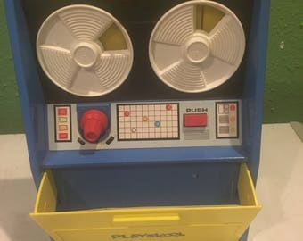 1972 vintage Playskool Play & Learn Computer