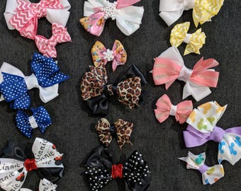 Dolly and Me bows