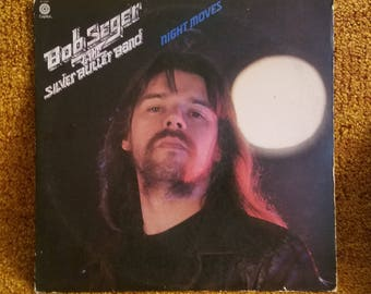 Vinyl: Bob Seger & the Silver Bullet Band, Night Moves, Free Shipping