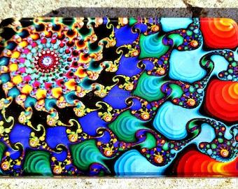 Stunning! QuantileDesigns Acrylic 'frameless' fractal art.