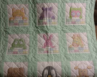 Baby Animal Quilt