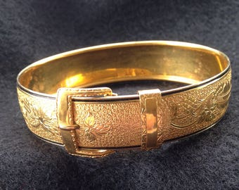 Victorian gold filled bracelet