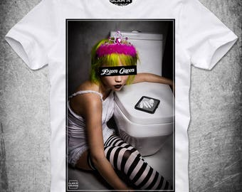 T Shirt Prom Queen Cocaine Blow Pablo Escobar Hipster Narcos Trippy Dope Swag Psychedelic