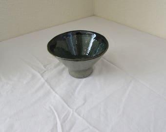 Handmade Ceramic Green Bowl