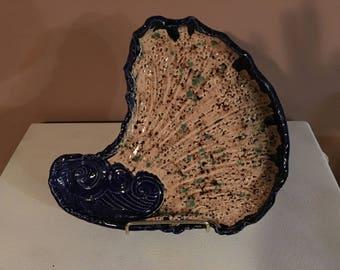 Handmade Nautical Plate