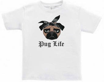 Pug Life Toddlers/Kids T-Shirt